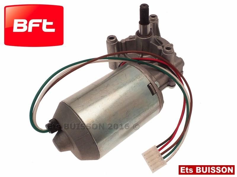 Bft eos 120 bt motor ducteur 24v r f i098766 for Moteur garage bft