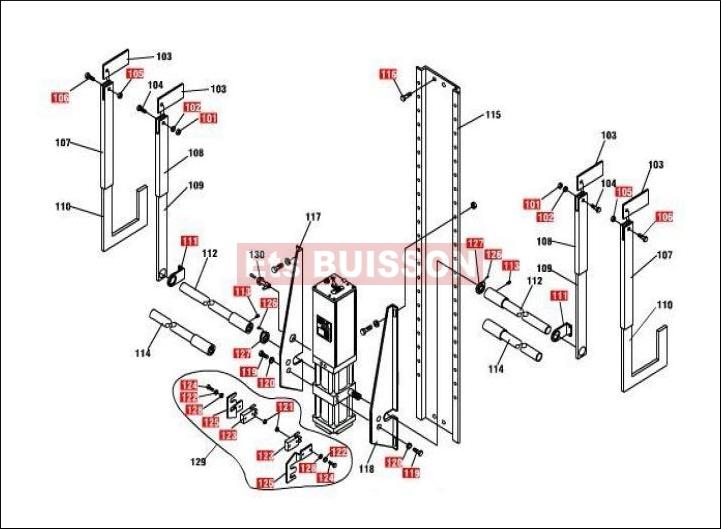 Actuellement affich faac pi ces d tach es faac for Reparation moteur porte de garage
