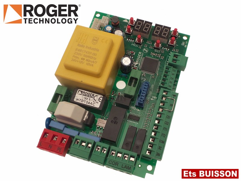 Roger Technology - R30 - Carte électronique 230V  Réf. H70/104AC