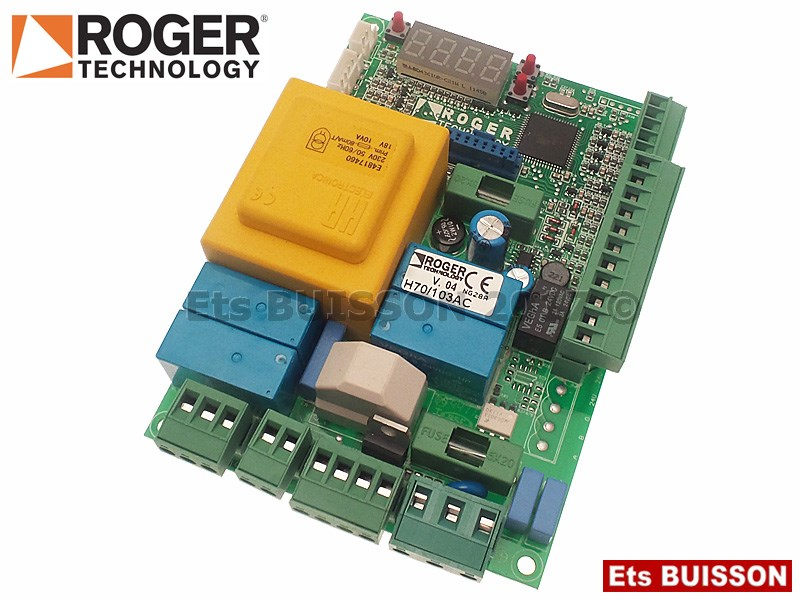 Roger Technology - R30 Carte électronique 230V Réf. H70-103AC