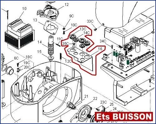 came bx243 capots de protection int rieurs 119ribx051. Black Bedroom Furniture Sets. Home Design Ideas