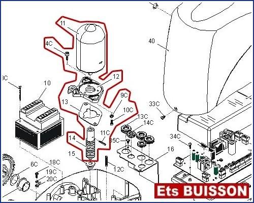 came bx243 v groupe moteur bx243 v 119ribx059 4c 9c 10c 11. Black Bedroom Furniture Sets. Home Design Ideas
