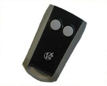 T l commande v2 emetteur phoenix 2 fonctions 433 mhz for Emetteur porte garage
