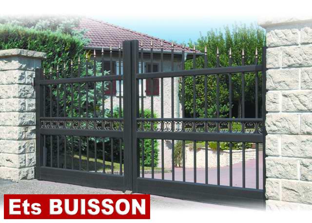 portail aluminium pleiade d. Black Bedroom Furniture Sets. Home Design Ideas